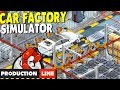 [LIVE🔴] Car Factory TYCOON | Tesla Simulator | Production Line Gameplay