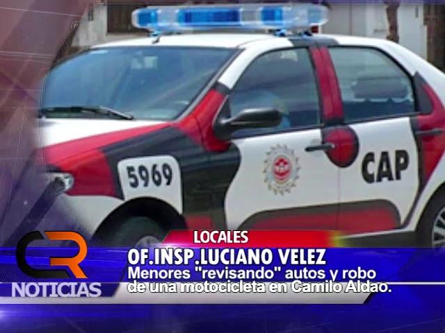 OFICIAL INSPECTOR LUCIANO VELEZ - POLICIALES CAMILO ALDAO