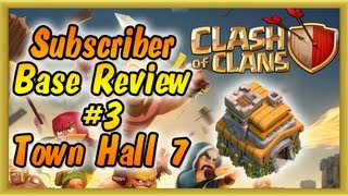 Clash of Clans - Subscriber Base Review #3 Town Hall Level 7