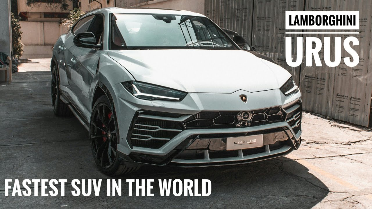 Lamborghini Urus In India Super Suv Bangalore 33 Youtube