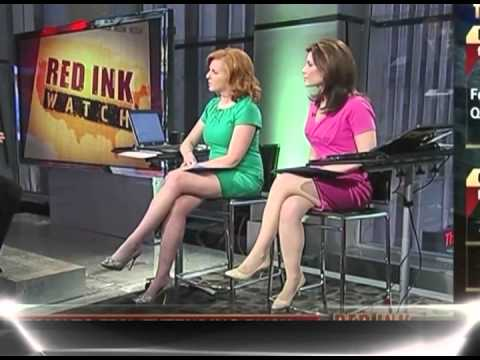 Liz Claman & Lori Rothman Sexy Legs