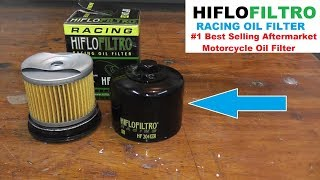 HIFLO FILTRO Oil Filter - The World's BEST SELLING Aftermarket Motorcycle Oil Filter