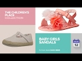 Baby Girls Sandals The Children's Place Collection