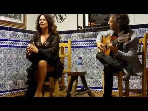VIRGINIA GÁMEZ Y LA GUITARRA DE CURRO DE MARÍA. Peña del Rincón Flamenco (Córdoba) 3/12/16