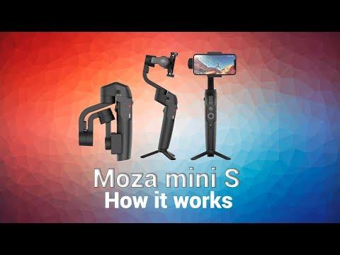 Moza mini s with samsung s10 plus
