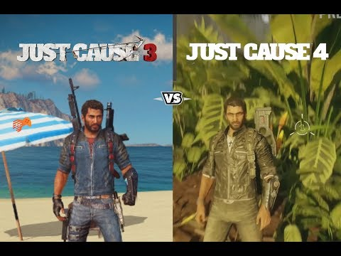 JUST CAUSE 4 Vs JUST CAUSE 3 | Depth Comparison | Side By Side