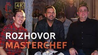 Rozhovor s MasterChef porotci: Jan Punčochář, Přemek Forejt, Radek Kašpárek