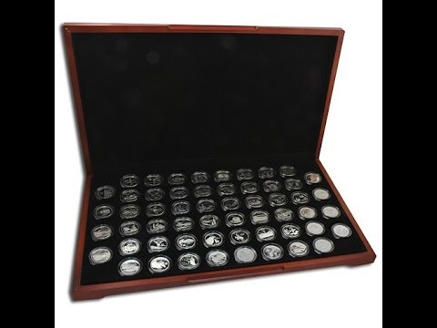 19992009 Clad Proof Set of State Quarters