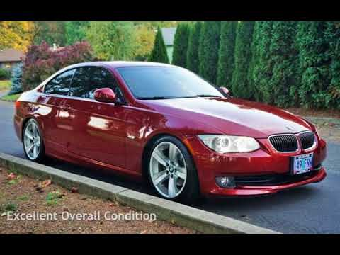 2011 Bmw 328i Red Lowered 67k Miles Sport Cold Weather For