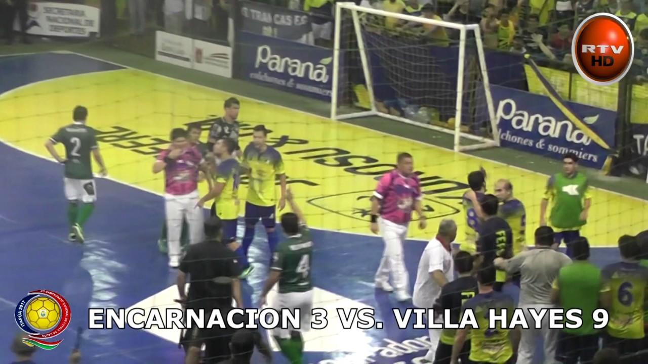 Futbol de salon encarnacion 3 villa hayes 9 08 03 17 hd for V encarnacion salon