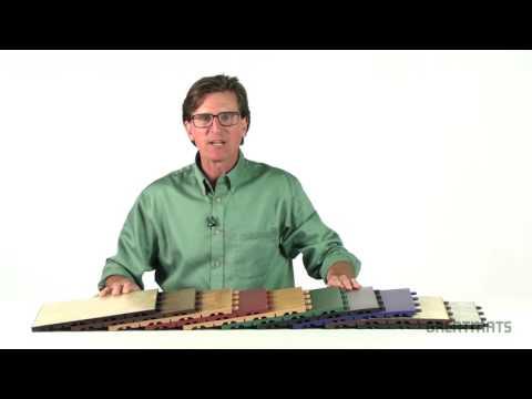 Vinyl Interlocking Floor Tile - TileFlex Floor Tiles