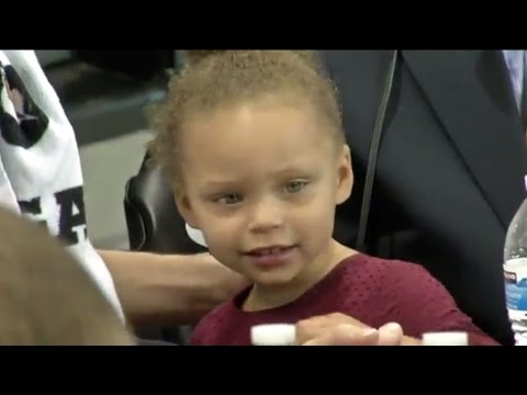 Stephen Curry's Daughter Riley Interview-Bombs Her Uncle Seth