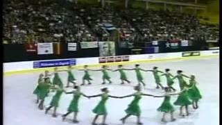 Marigold Ice Unity Long Program at 2004 World Synchronized Skating Championships