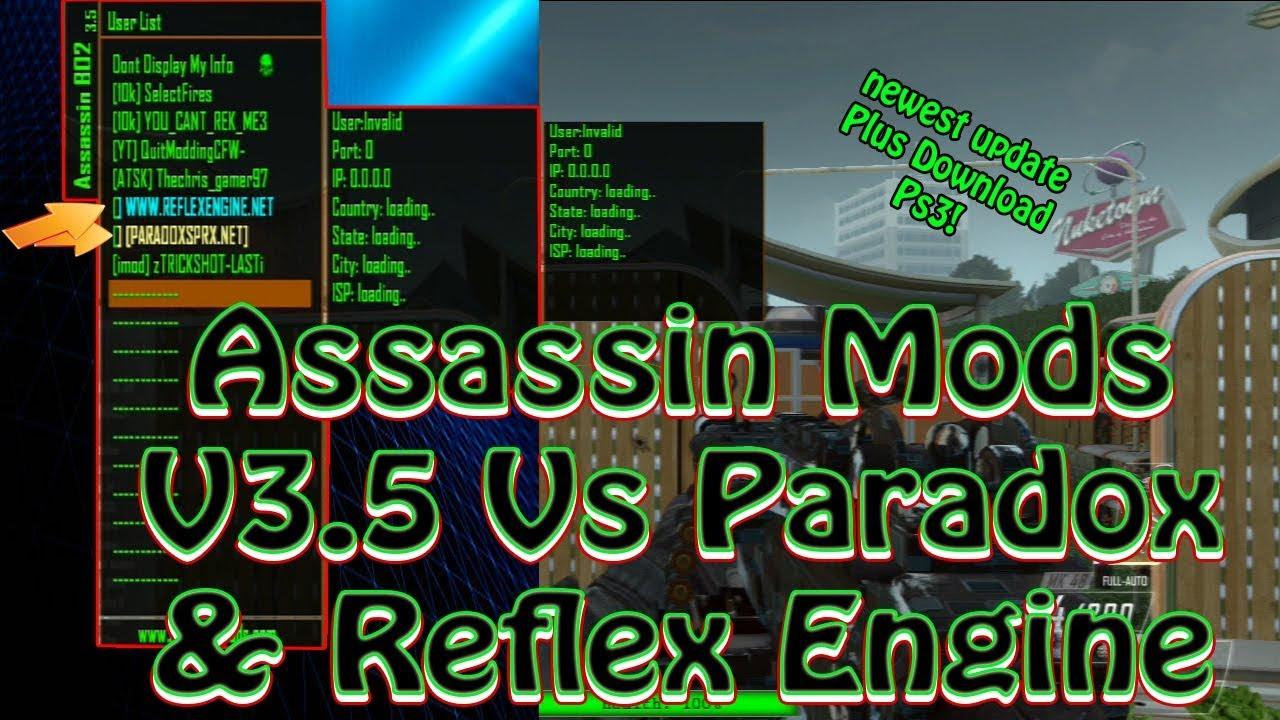 Bo2] Newest Update   NonHost ModMenu AssassinMods v3 5 All