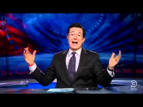 Stephen Colbert Suck My Giant American Balls Al-Qaeda!