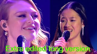 Claudia Emmanuela Santoso & Freya Ridings  - Castles || 11 Min Edited loop version - The Voice 2019