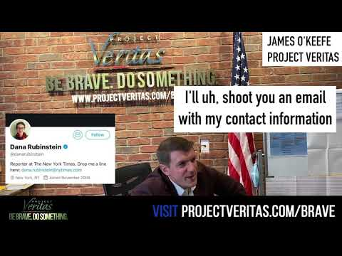 SAVAGE! O'Keefe Calls NYT Reporter Writing Hit Piece, Asks Her To Wear Camera And Record Her BO