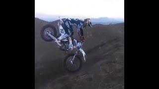 360 foot plant on dirt bike | 360 motocross freestyle