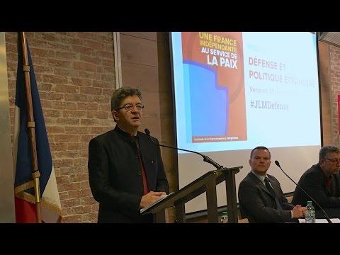 MÉLENCHON : Une géopolitique et une défense au service de la paix - #JLMDéfense
