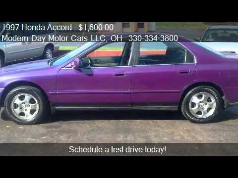 Wadsworth Motor Cars >> 1997 Honda Accord Special Edition sedan - for sale in Wadswo - YouTube
