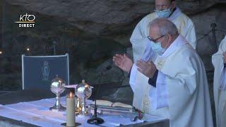 Messe de 10h à Lourdes du 5 avril 2021