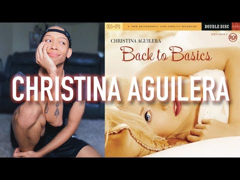 Christina Aguilera - Back to Basics   DISC 1 REACTION & REVIEW