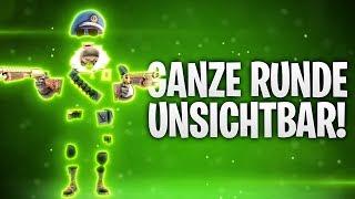 GANZE RUNDE UNSICHTBAR! 👀 | Fortnite: Battle Royale