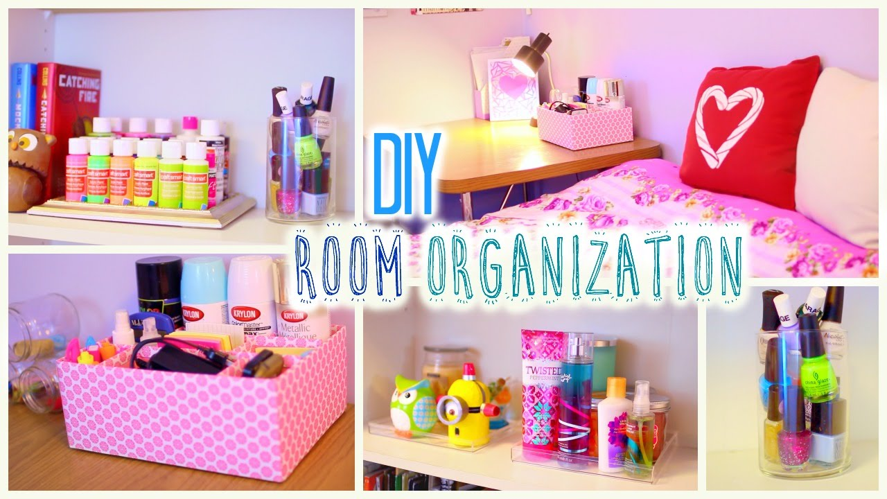 DIY Room Organization And Storage Ideas