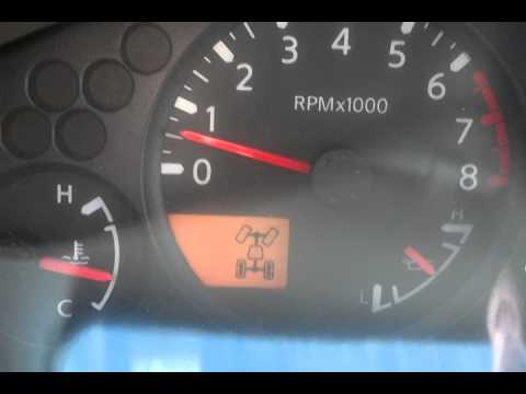 2014 Nissan Frontier 4wd not disengaging
