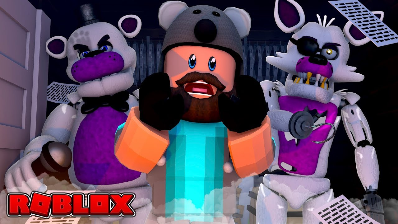 THEY MOVE AND TALK?? | FNAF Sister Location | ROBLOX