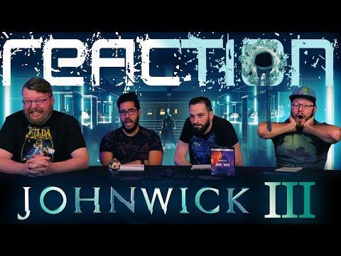 John Wick: Chapter 3 – Parabellum MOVIE REACTION!!