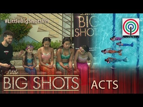 Little Big Shots Philippines: Young Mermaids