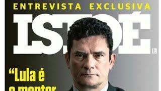 Usuários comentam capa da Revista IstoÉ com Sérgio Moro sobre Lula