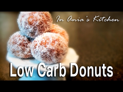 Low Carb Donuts - Pączki Niskowęglowodanowe - Recipe #268