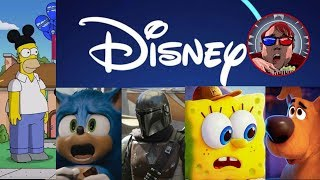 MOVIE CRAP LIVE!!! Disney+ Does it Suck?, Simpsons Wrong Aspect Ratio, Sonic, Spongebob, Scoob