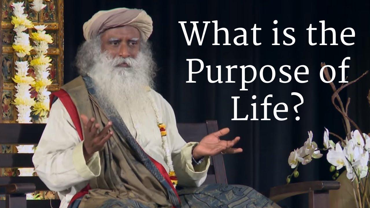मेरी ज़िन्दगी का क्या मक़सद है? What is the Purpose of Life? - sadhguru