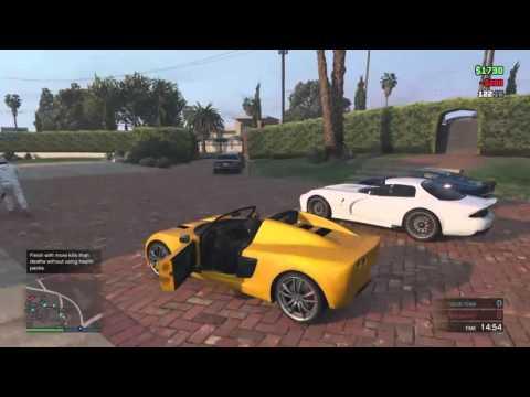 GTA V: Military Base Raid, Heists, Deathmatches