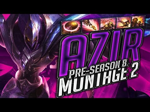 AZIR PRE SEASON S8 - Best Azir Plays League Of Legends 2019