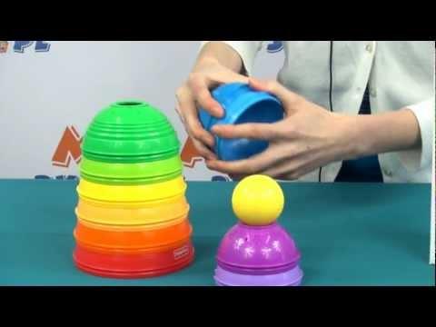 Okrągłe Kubeczki Do Układania / Stack & Roll Cups - Brilliant Basics - Fisher Price - Mattel