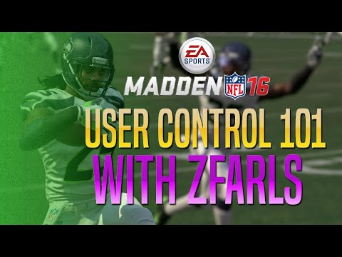 Madden 16 Defensive Tips - How To User Control 101!