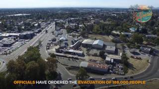 america watches oroville dam as 188 000 are evacuated hd
