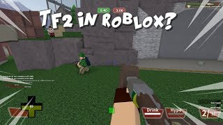 A Scout Main Plays Roblox TF2