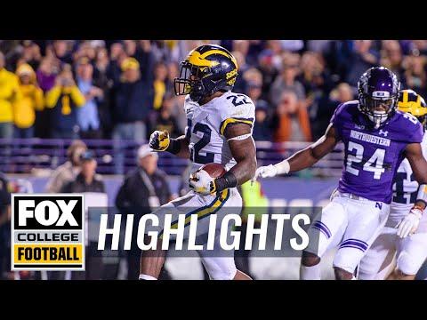 Northwestern vs. Michigan | FOX COLLEGE FOOTBALL HIGHLIGHTS