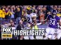 Northwestern Vs Michigan FOX COLLEGE FOOTBALL HIGHLIGHTS mp3