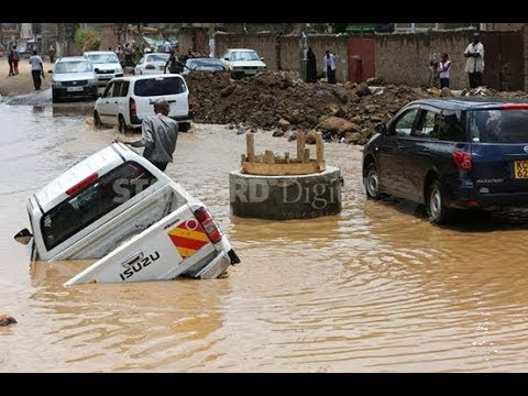 FLOODS IN NAIROBI: Heavy rains cause flooding in the city