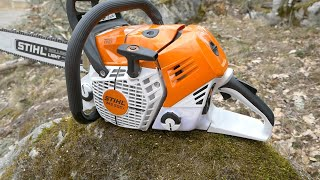 World's First Fuel Injected Chainsaw - NEW Stihl MS500i - Review