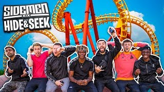 SIDEMEN HIDE & SEEK IN A THEME PARK