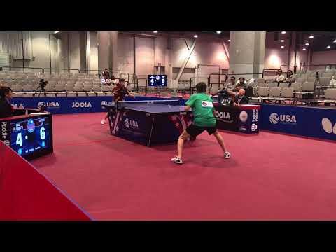 2018 US National Championships - Gal Alguetti Vs. Victor Liu