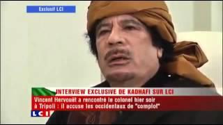 Khadafi savait