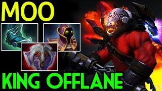 MOO [Axe] King offlane with Tanky Build 7.14 Dota 2
